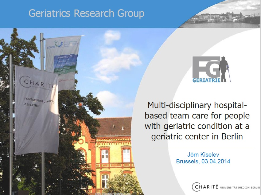 Multi-disciplinary hospital-based team care for people with geriatric condition at a geriatric center in Berlin