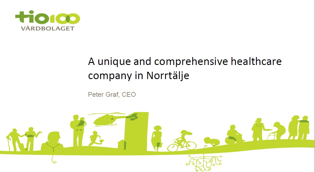 TioHundra AB – A unique and comprehensive healthcare company in Norrtälje