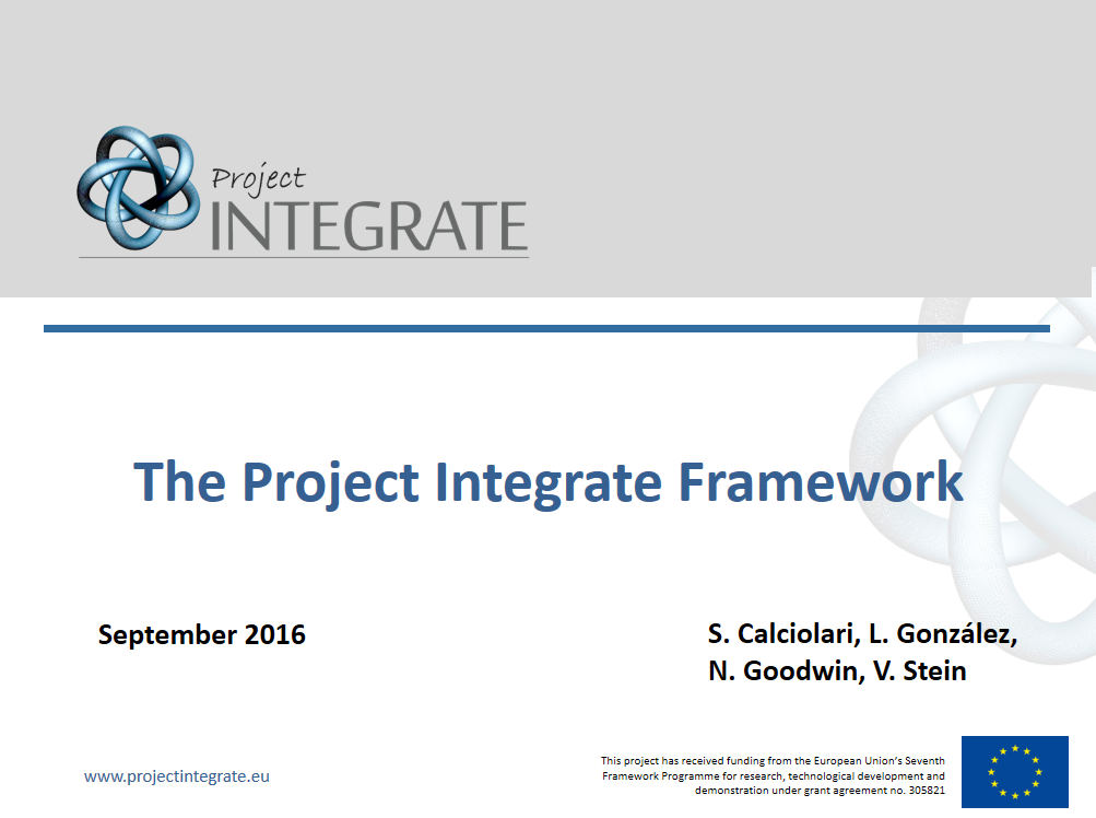 The Project Integrate Framework