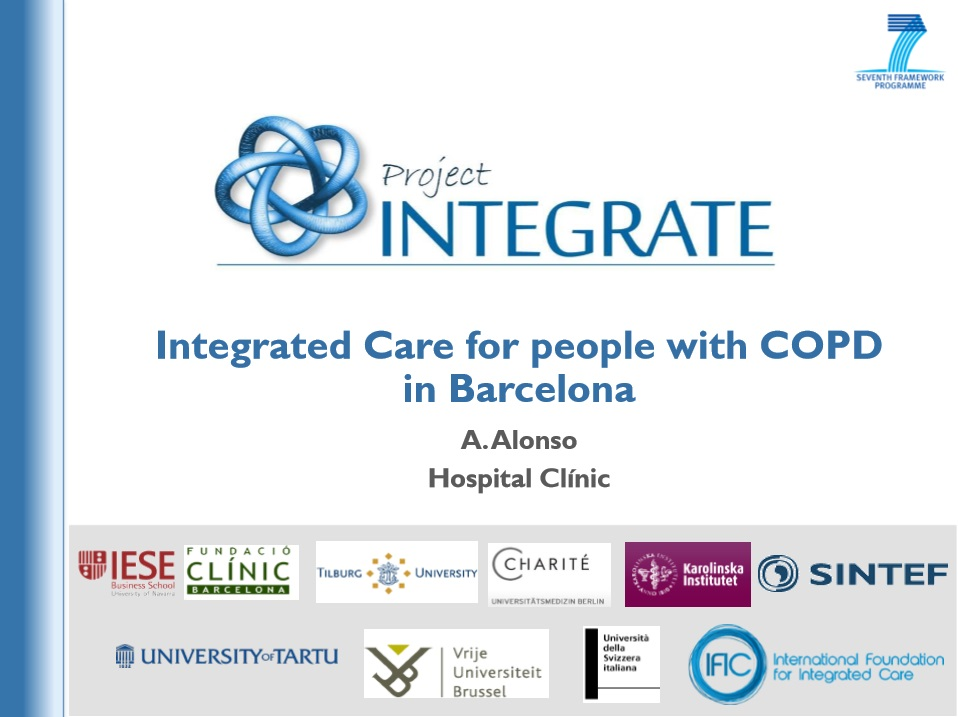 Integrated Care for people with COPD in Barcelona