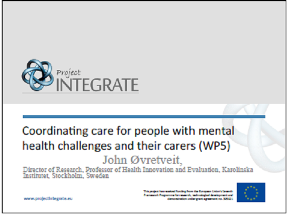Coordinating Care for People with Mental Health Challenges and Supporting Care Coordination with Digital Health Technologies